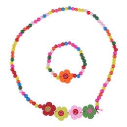 children-kid-jewelry-set-handmade-wood-flower